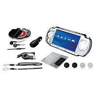 Набор аксессуаров Black Horns PSP Slim 2000/3000 12in1 Crystal Kit
