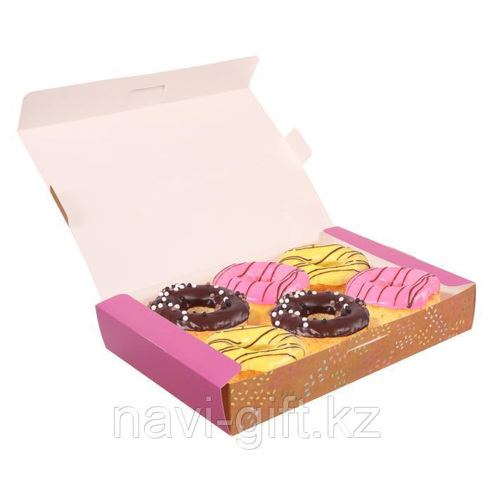 Складная коробка «Поздравляю», 30 х 20 х 5 см - фото 2