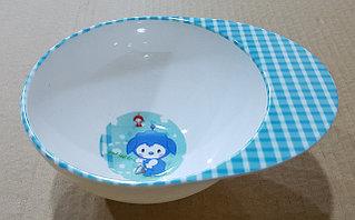 Детская чашка, синяя