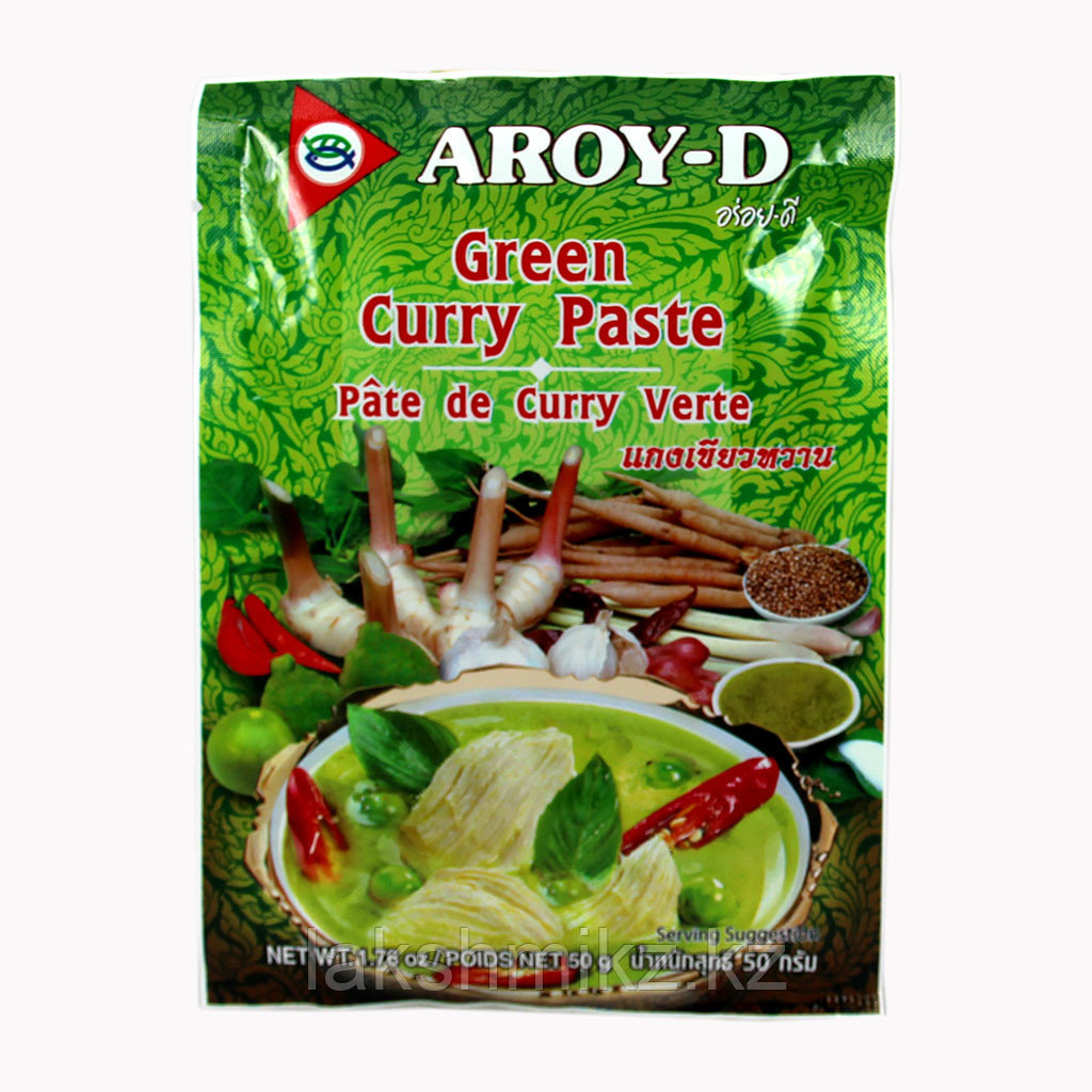 Паста карри Aroy-D зелёная (50 г)