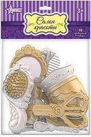 Парикмахерский набор с феном золото (10 пред.в большом пакете с хедером)