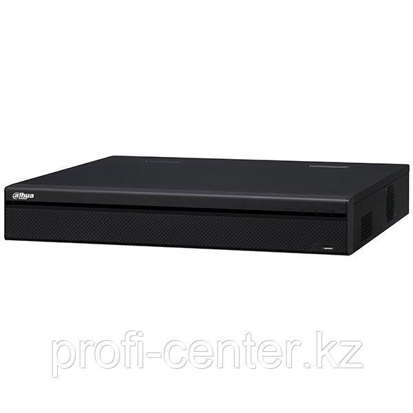 NVR5816-16P-4KS2 16-канальный видеорегистратор 320мбит/с до 12Mp 8 HDD-диска SATA объемом до 64 ТБ