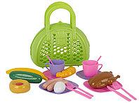 """Игровой набор """"Завтрак путешественника"""" в сумке"""