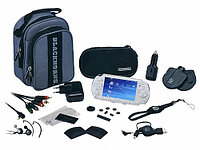 Набор аксессуаров Black Horns PSP Slim 2000/3000 Mega Pack
