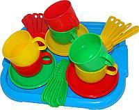 Набор детской посуды минутка на 4 перс. С подн
