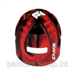 Защитный чехол на баллон EXALT красно-черный