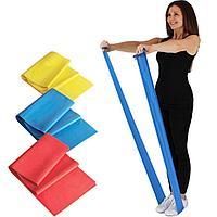 Резиновая эластичная лента-эспандер для фитнеса 1 шт