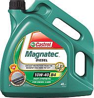 Масло моторное дизельное CASTROL MAGNATEC DIESEL 10W-40 B4 4литра, фото 1