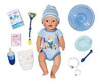Кукла интерактивная Мальчик Baby Born 43 см, фото 1