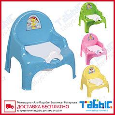 Детский горшок кресло со съемным стаканом