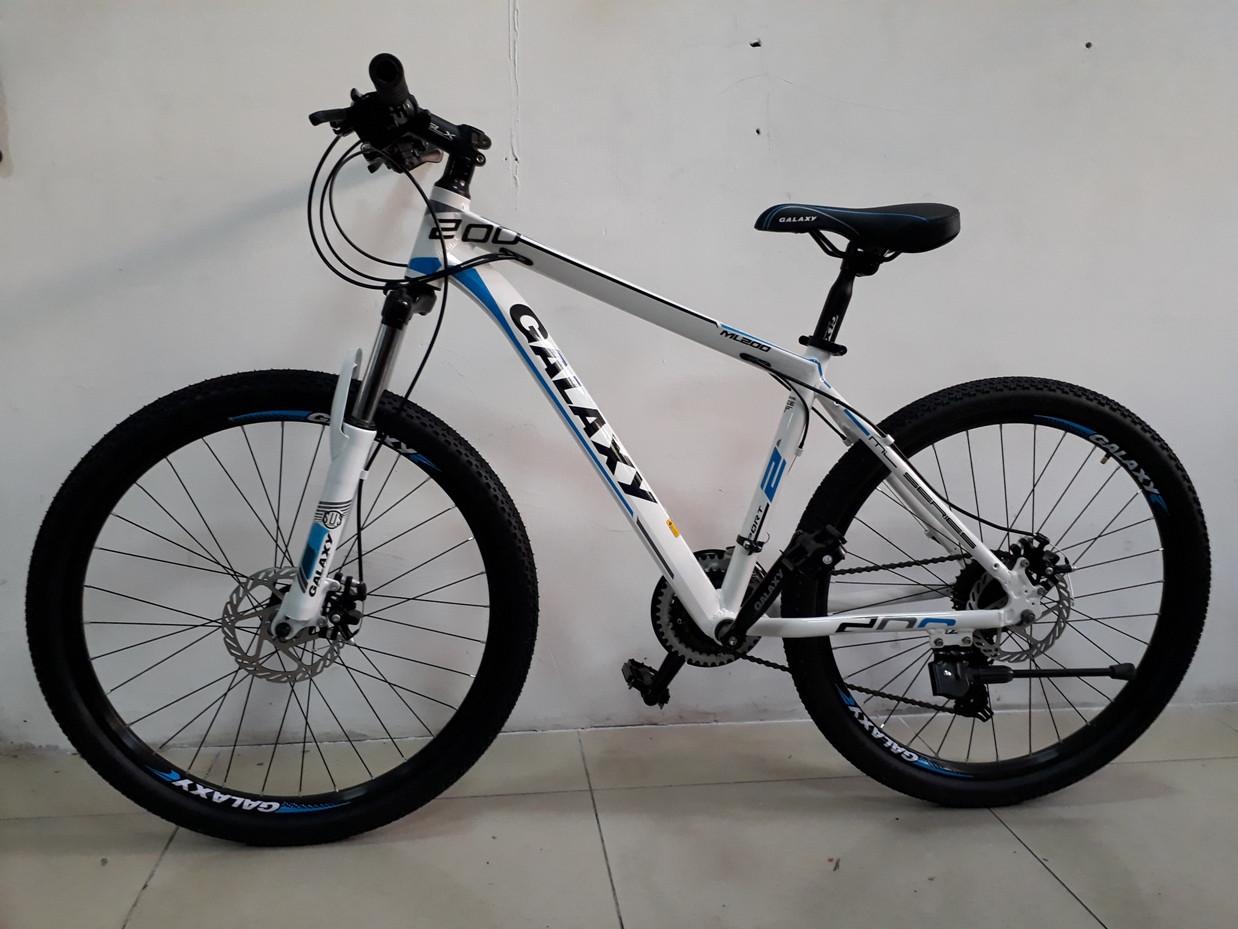 """Велосипед спортивный Galaxy ML200 рама 17"""". Рассрочка. Kaspi RED."""
