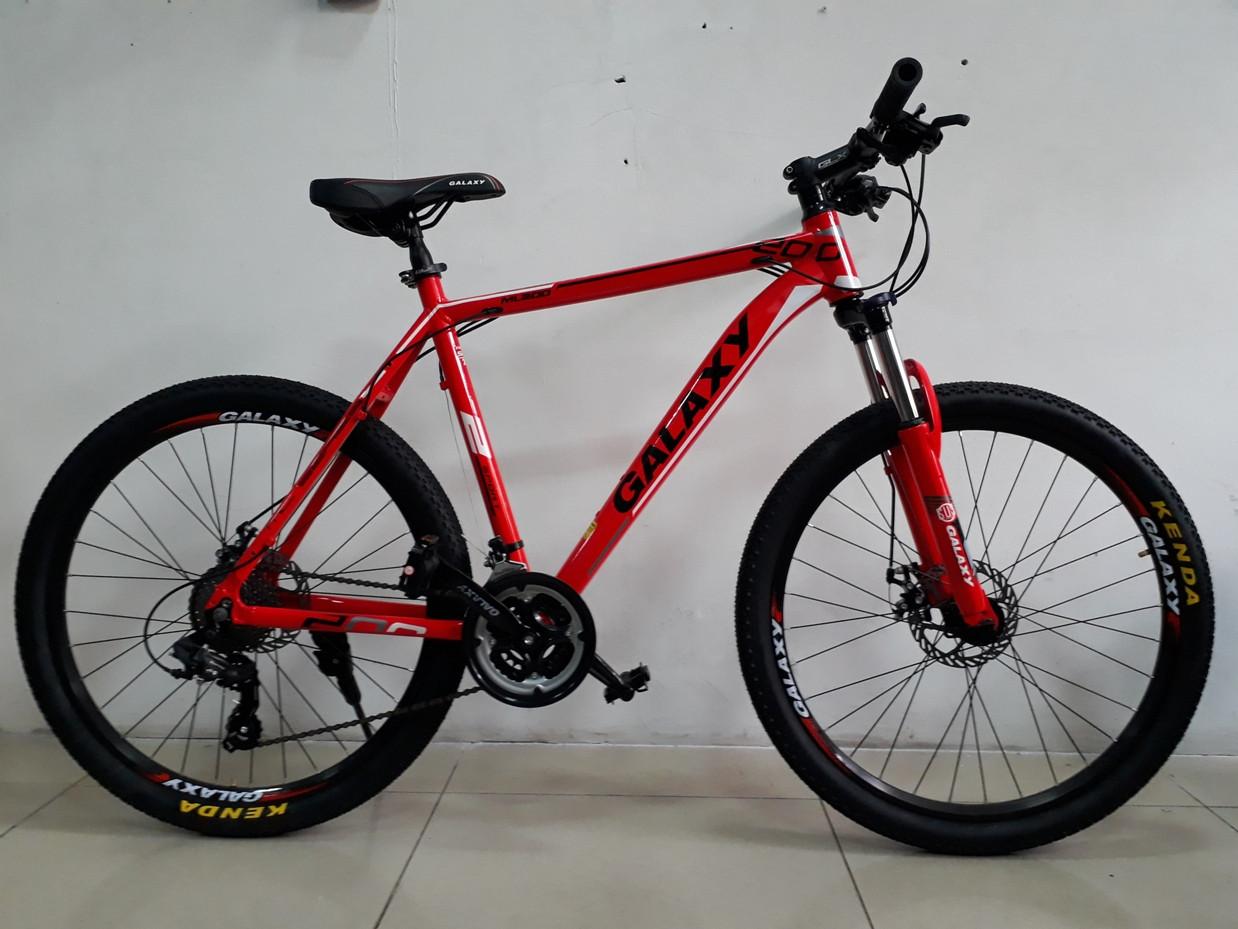"""Велосипед спортивный Galaxy ML200 рама 21"""" Kaspi RED. Рассрочка."""