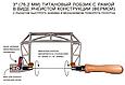 Лобзики ручные Knew Concept Titanium, глубиной реза 75мм, 125мм, 200мм, фото 2