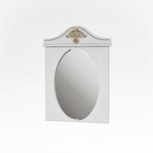 Тумба под умывальник Жозефина  85 см. Настенное зеркало. Шкаф (золото), фото 2