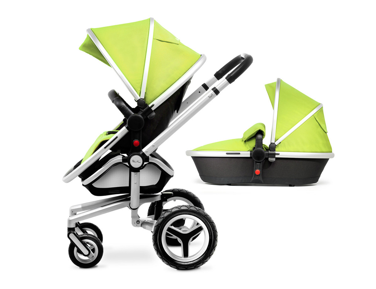 Silver Cross Комплект для изменения цвета коляски Lime для SURF -