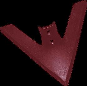 Лапа культиватора РЗЗ-КПЭ-3,8 (410 мм)