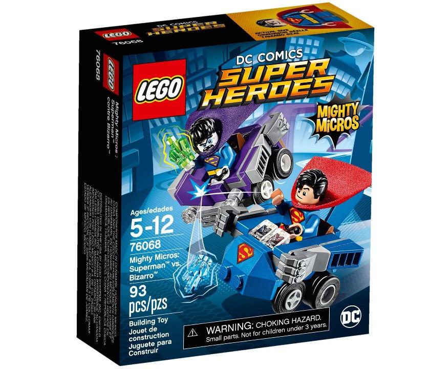 76068 Lego Super Heroes Mighty Micros: Супермен™ против Бизарро™, Лего Супергерои DC