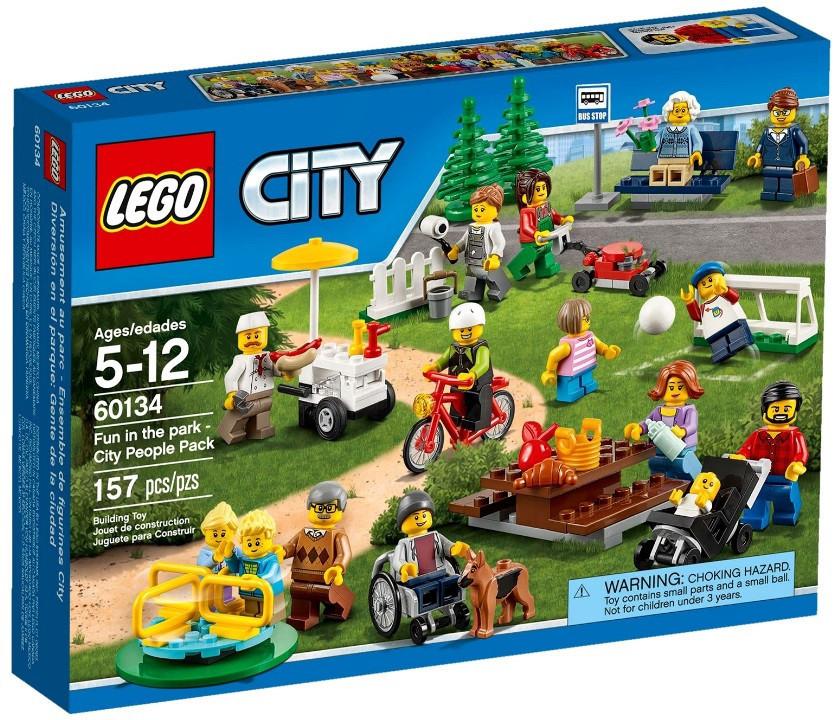 60134 Lego City Праздник в парке — жители, Лего Город Сити