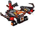70318 Lego Nexo Knights Шаровая ракета, Лего Рыцари Нексо, фото 3