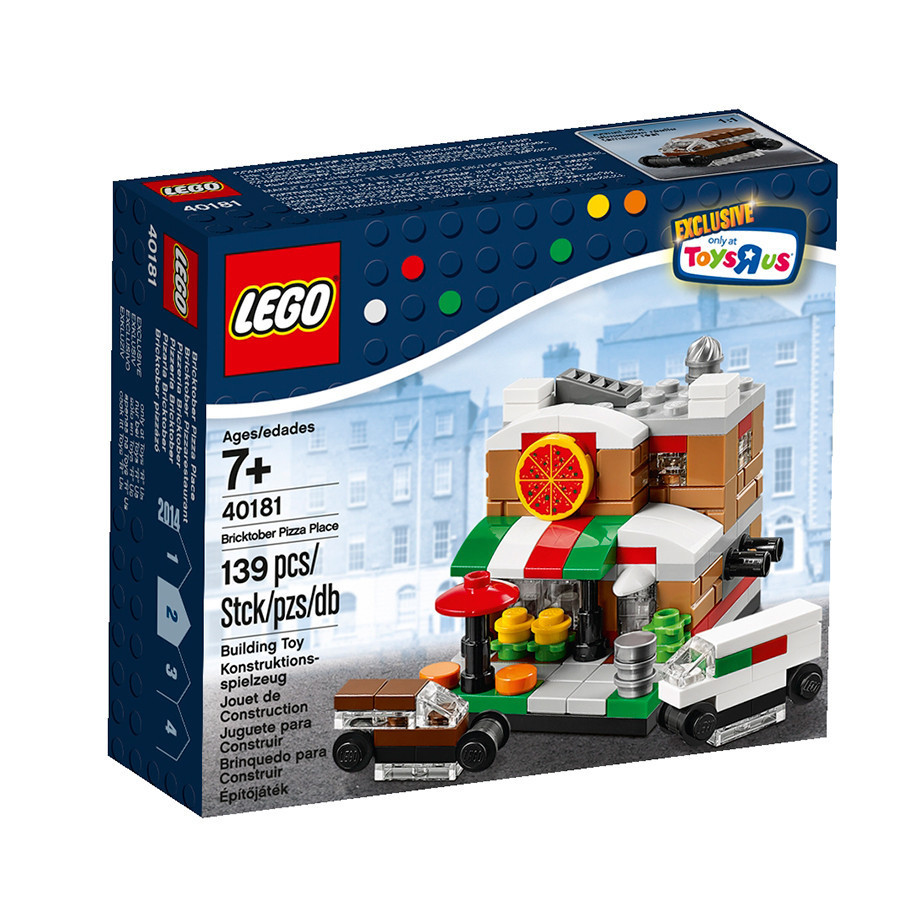 40181 Lego Bricktober Pizza Place EXCLUSIVE