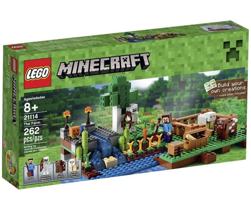 21114 Lego Minecraft Ферма, Лего Майнкрафт