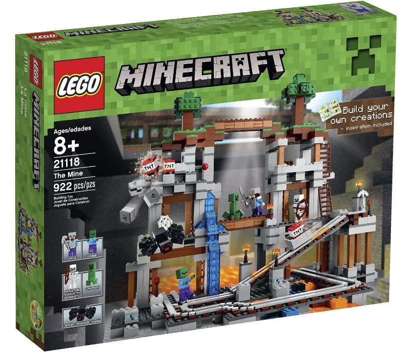 21118 Lego Minecraft Шахта, Лего Майнкрафт
