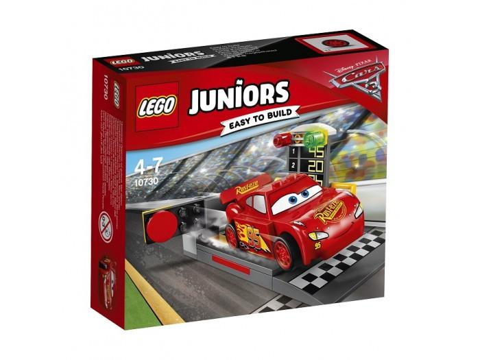 10730 Lego Juniors Устройство для запуска Молнии МакКуина, Лего Джуниорс