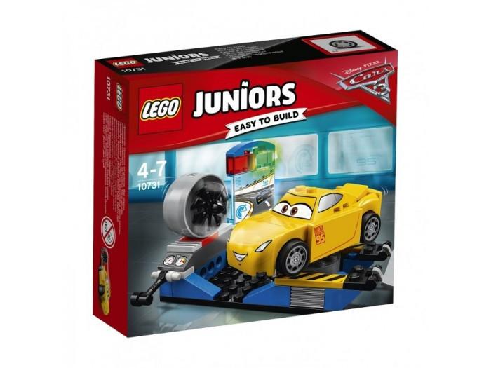10731 Lego Juniors Гоночный тренажёр Крус Рамирес, Лего Джуниорс