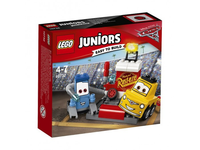 10732 Lego Juniors Пит-стоп Гвидо и Луиджи, Лего Джуниорс