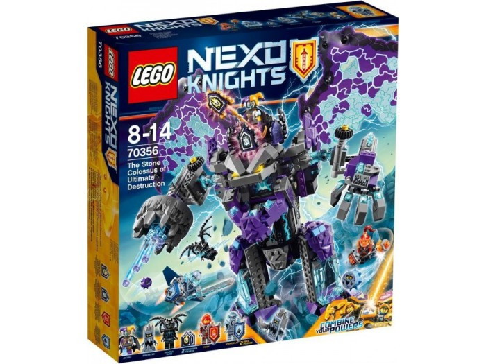 70356 Lego Nexo Knights Каменный великан-разрушитель, Лего Рыцари Нексо