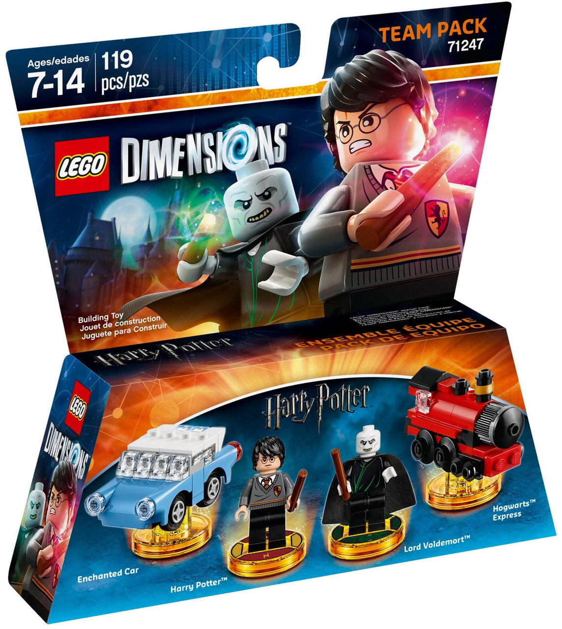 71247 Lego Dimensions Harry Potter (Team Pack)