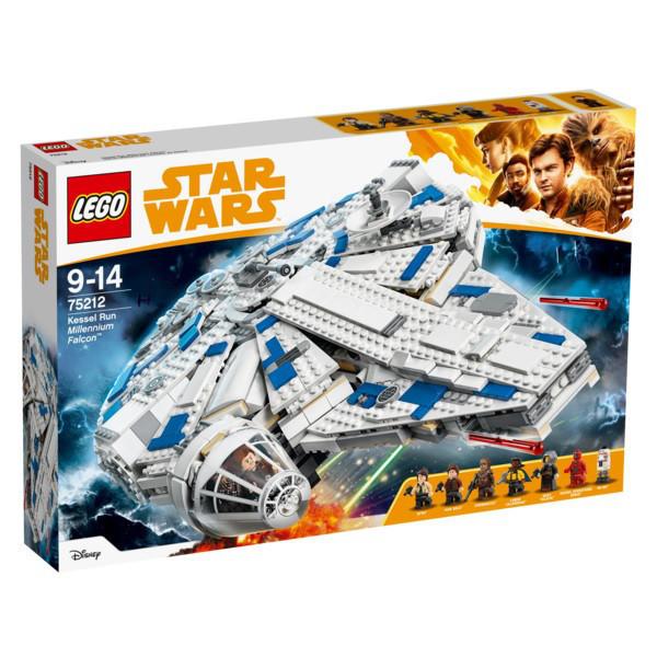 75212 Lego Star Wars Сокол Тысячелетия на Дуге Кесселя, Лего Звездные войны