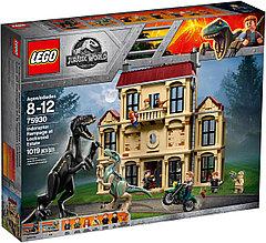 75930 Lego Jurassic World Нападение индораптора в поместье Локвуд, Лего Мир Юрского периода