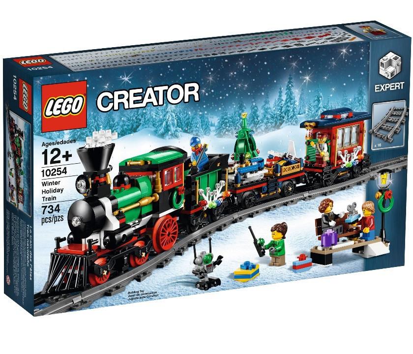 10254 Lego Creator Новогодний экспресс