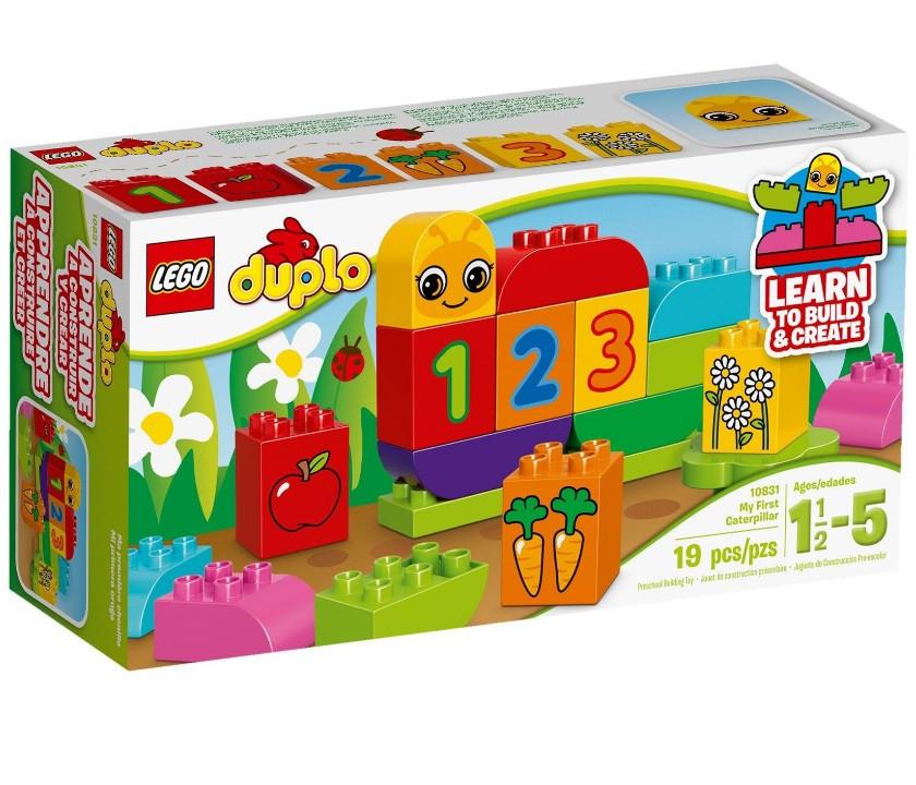 10831 Lego Duplo Моя веселая гусеница, Лего Дупло