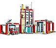 60110 Lego City Пожарная часть, Лего Город Сити, фото 3