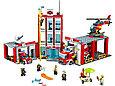 60110 Lego City Пожарная часть, Лего Город Сити, фото 2
