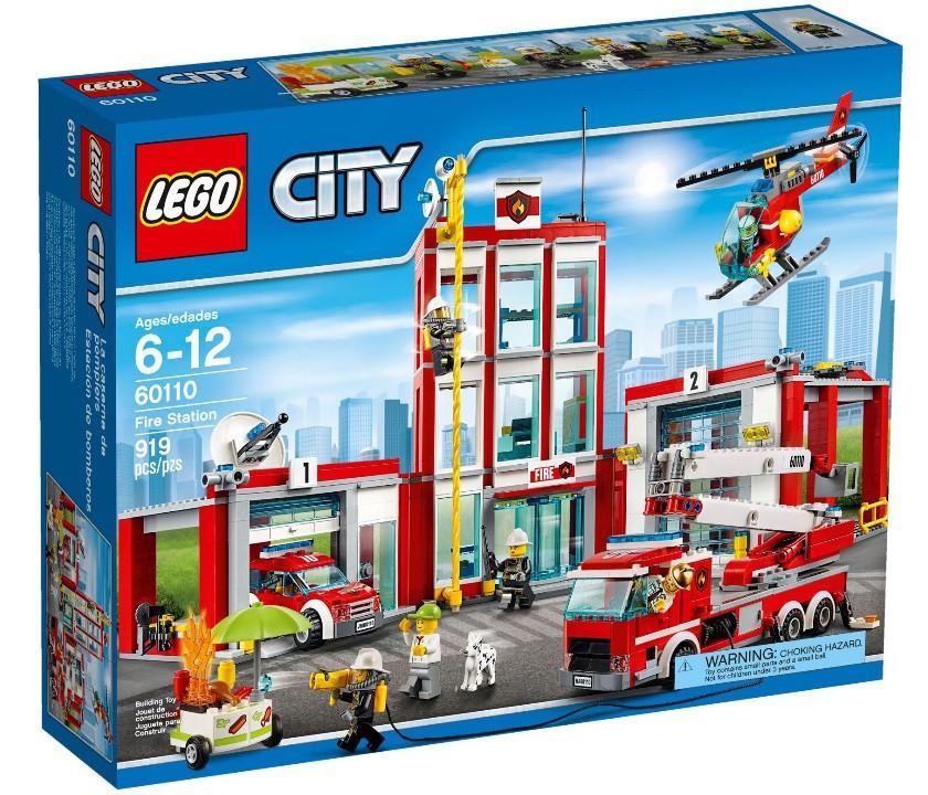 60110 Lego City Пожарная часть, Лего Город Сити