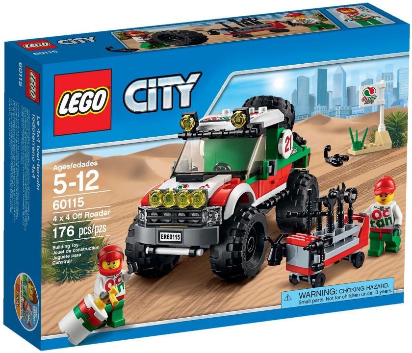 60115 Lego City Внедорожник 4x4, Лего Город Сити
