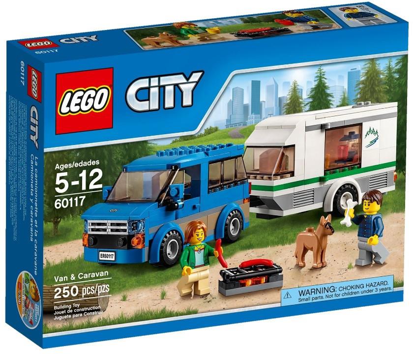 60117 Lego City Фургон и дом на колёсах, Лего Город Сити