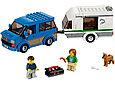 60117 Lego City Фургон и дом на колёсах, Лего Город Сити, фото 2