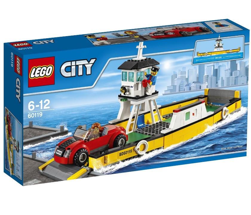 60119 Lego City Паром, Лего Город Сити