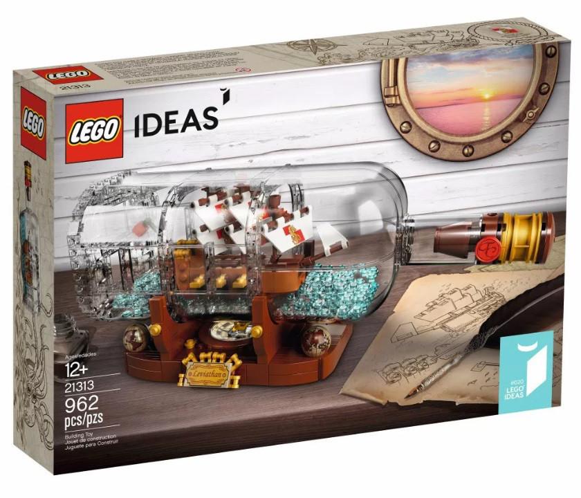 21313 Lego Ideas Корабль в бутылке