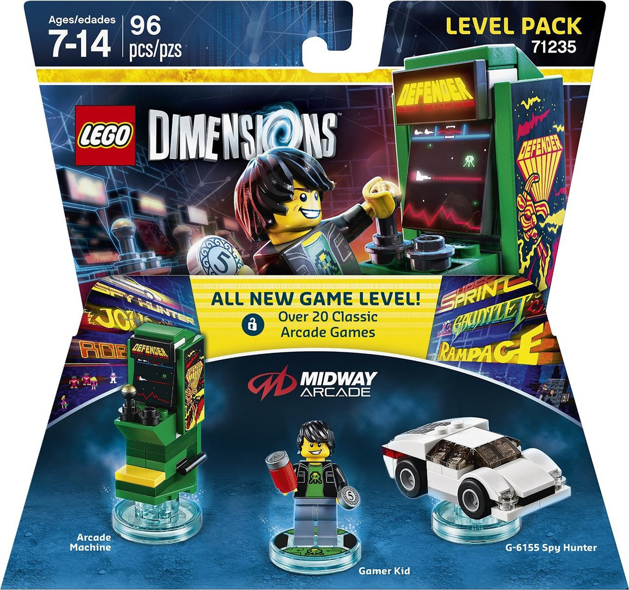 71235 Lego Dimensions Midway Arcade (Level Pack)