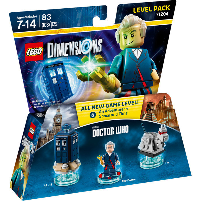 71204 Lego Dimensions Doctor Who (Level Pack)