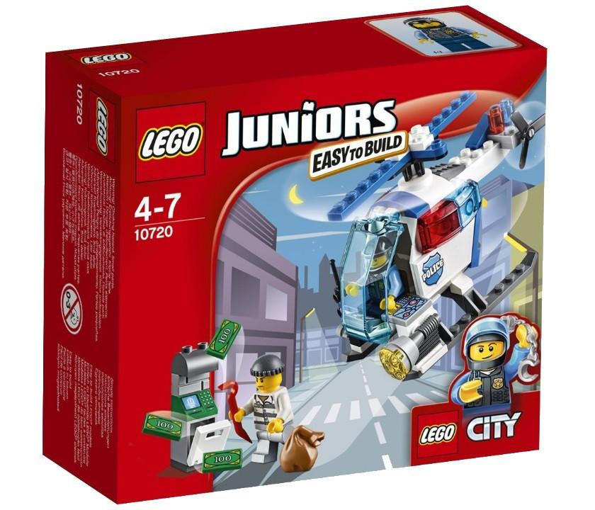 10720 Lego Juniors Погоня на полицейском вертолёте, Лего Джуниорс