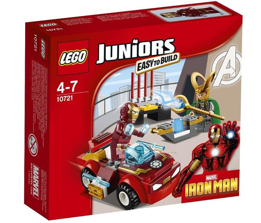 10721 Lego Juniors Железный человек против Локи, Лего Джуниорс