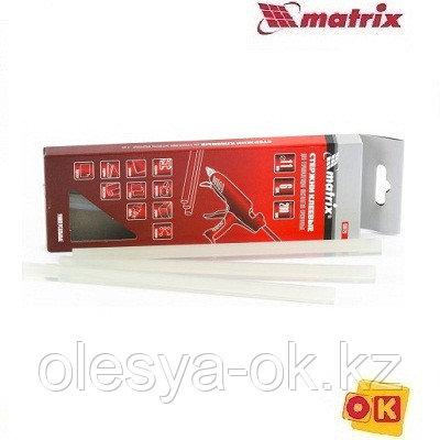 Стержни клеевые 11 х 200 мм, 6 шт. (прозрачные) MATRIX, фото 2