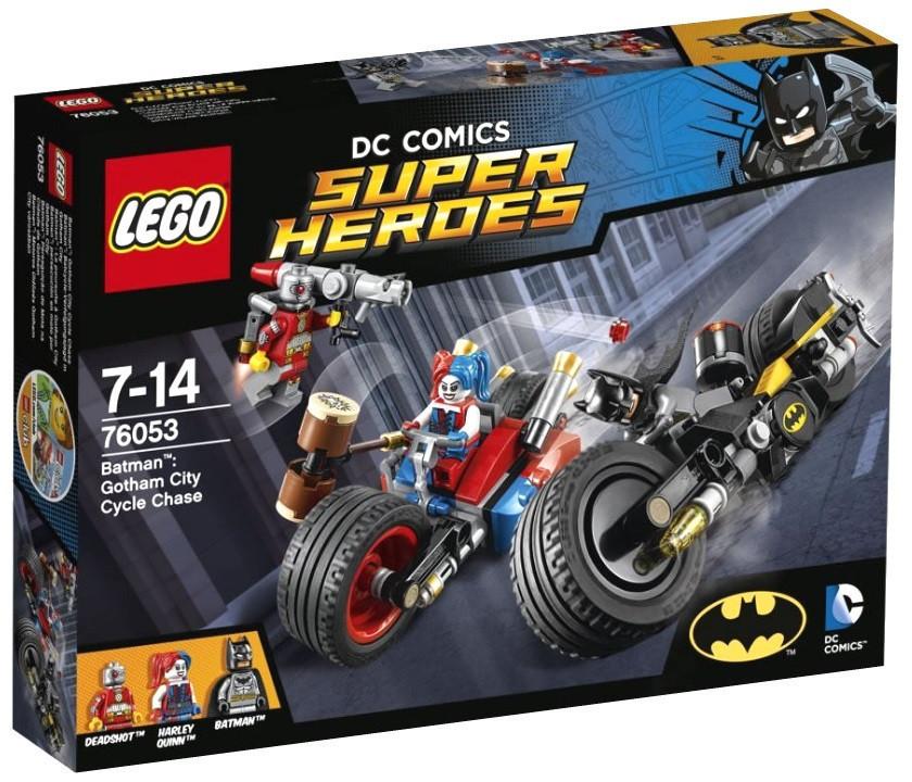 76053 Lego Super Heroes Бэтман: Погоня на мотоциклах по Готэм-сити, Лего Супергерои DC
