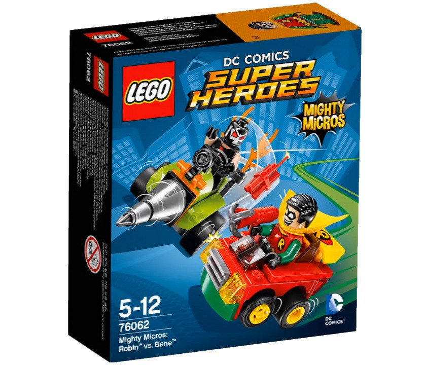 76062 Lego Super Heroes Робин против Бэйна™, Лего Супергерои DC